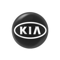 Стикер (наклейка) 14 мм KIA для автомобильного ключа