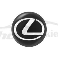 Стикер (наклейка) 14 мм Lexus для автомобильного ключа