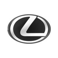 Стікер (наліпка) овал 19x12,5 мм Lexus для автомобільного ключа