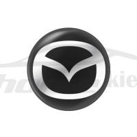 Стикер (наклейка) 14 мм Mazda для автомобильного ключа