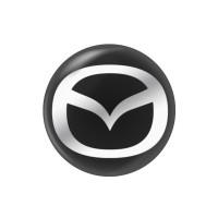 Стікер (наліпка) 14 мм Mazda для автомобільного ключа