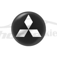 Стикер (наклейка) 14 мм Mitsubishi для автомобильного ключа