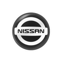 Стікер (наліпка) 14 мм Nissan для автомобільного ключа