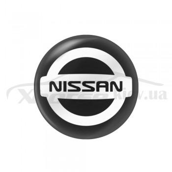 Стикер (наклейка) 14 мм Nissan для автомобильного ключа