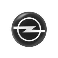 Стікер (наліпка) 14 мм Opel для автомобільного ключа