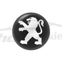 Стикер (наклейка) 14 мм Peugeot для автомобильного ключа