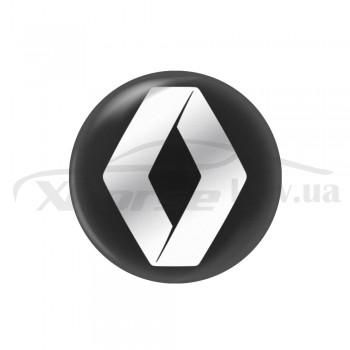 Стикер (наклейка) 14 мм Renault для автомобильного ключа