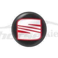 Стикер (наклейка) 14 мм Seat для автомобильного ключа