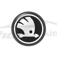 Стикер (наклейка) 14 мм Skoda для автомобильного ключа