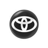 Стікер (наліпка) 14 мм Toyota для автомобільного ключа