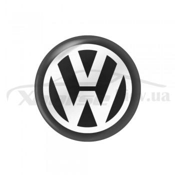 Стикер (наклейка) 11 мм Volkswagen для автомобильного ключа
