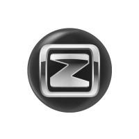 Стікер (наліпка) 14 мм Zotye для автомобільного ключа