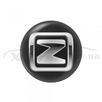 Стикер (наклейка) 14 мм Zotye для автомобильного ключа