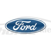 Стикер (наклейка) овал 18x7 Ford для автомобильного ключа