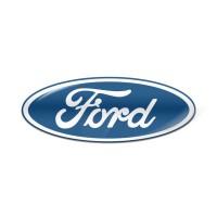 Стікер (наліпка) овал 18x7 Ford для автомобільного ключа