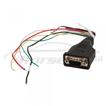Адаптер XDNP36GL 9s12xE Cable для работы без пайки для программаторов Xhorse