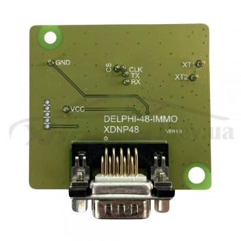 Адаптер XDNP48GL Delphi 48 IMMO для работы без пайки для программаторов Xhorse