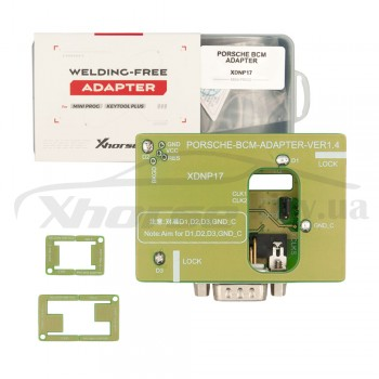 Адаптер XDNP17GL Porsche BCM для работы без пайки для программаторов Xhorse