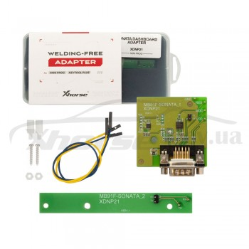 Адаптер XDNP21GL Sonata Dashboard MB91F для работы без пайки для программаторов Xhorse