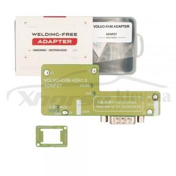 Адаптер XDNP27GL Volvo KVM для работы без пайки для программаторов Xhorse