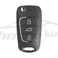 Ключ универсальный выкидной XKHY02EN  3 but  Xhorse-VVDI