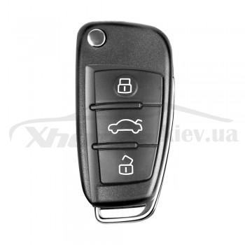Ключ универсальный выкидной XKA600EN 3 but Xhorse-VVDI