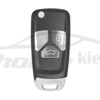 Ключ универсальный выкидной XKAU01EN 3 but  Xhorse-VVDI