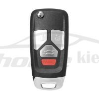 Ключ универсальный выкидной XKAU02EN 3 but+PANIC Xhorse-VVDI