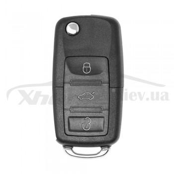 Ключ универсальный выкидной XKB501EN 3 but Xhorse-VVDI