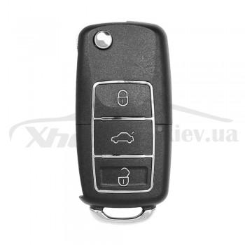 Ключ универсальный выкидной XKB506EN 3 but Xhorse-VVDI