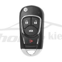 Ключ универсальный выкидной XKBU02EN 3 but + Panic Xhorse-VVDI