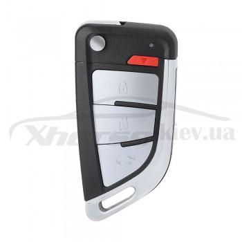Ключ универсальный выкидной XEKF20EN 3+1 but Xhorse-VVDI