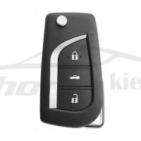 Ключ универсальный выкидной XKTO00EN 3 but Xhorse-VVDI