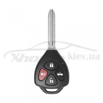 Ключ универсальный обычный XKTO02EN 3 but+PANIC Xhorse-VVDI