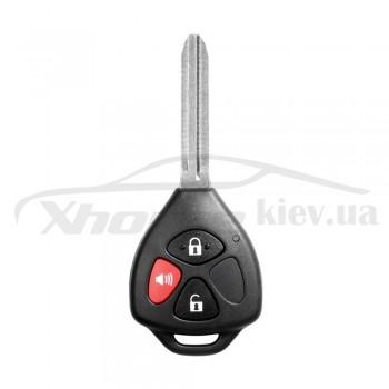 Ключ универсальный обычный XKTO04EN 2 but + Panic  Xhorse-VVDI