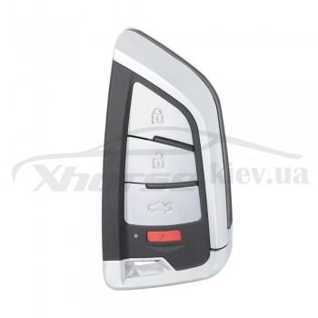 Ключ универсальный smart XSKF20EN 3 but + Panic Xhorse-VVDI