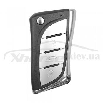 Ключ универсальный выкидной XKLEX0EN 3 but Xhorse-VVDI